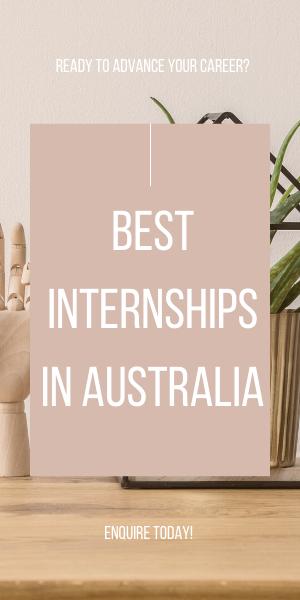 Best Internship in Australia